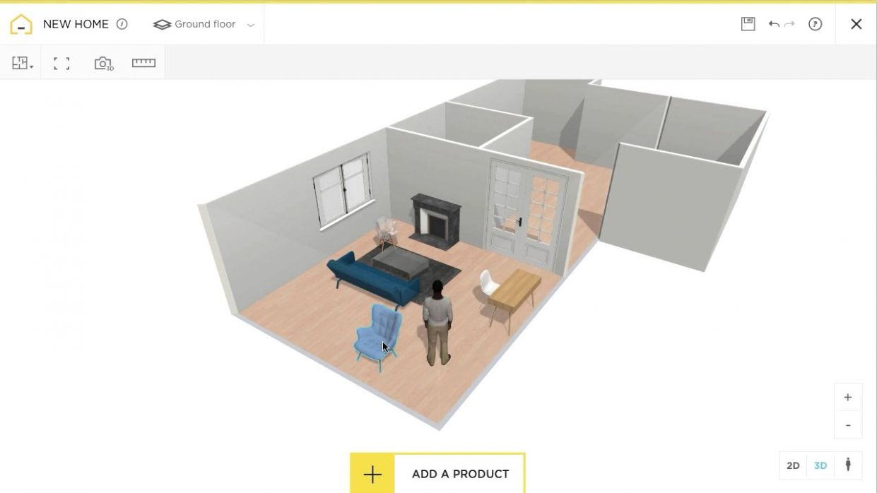 Free and online 11D home design planner - HomeByMe