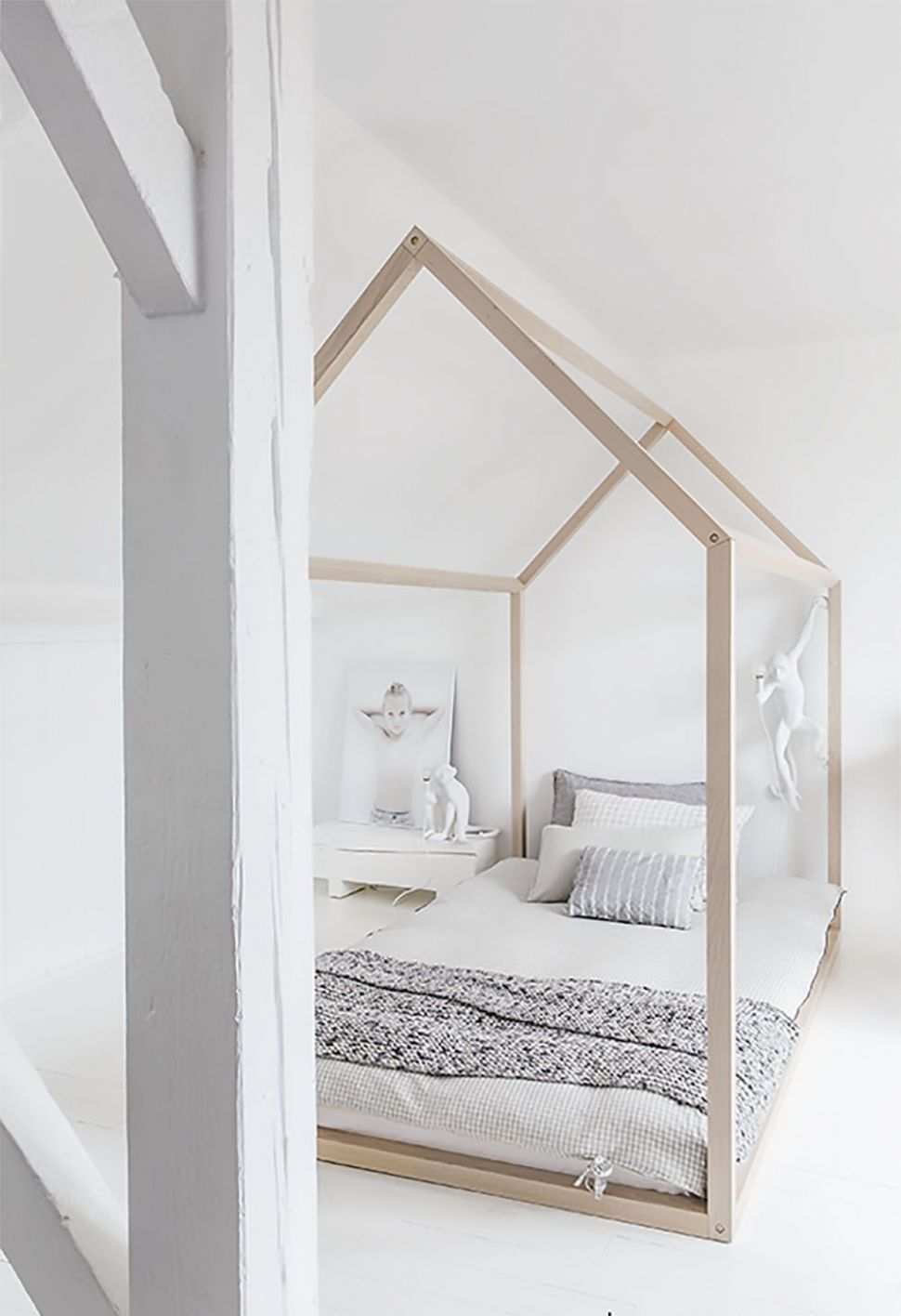 FRIDAY INSPIRATION: HOUSE FRAME BEDS! — WINTER DAISY interiors for ..