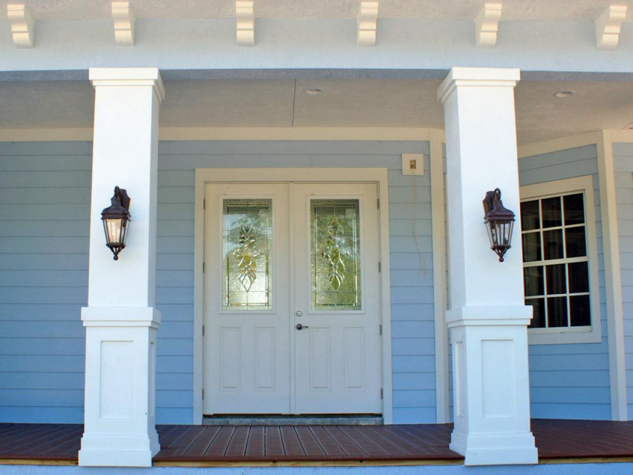 front porch designs with pillars - Fanase - front porch ideas with columns
