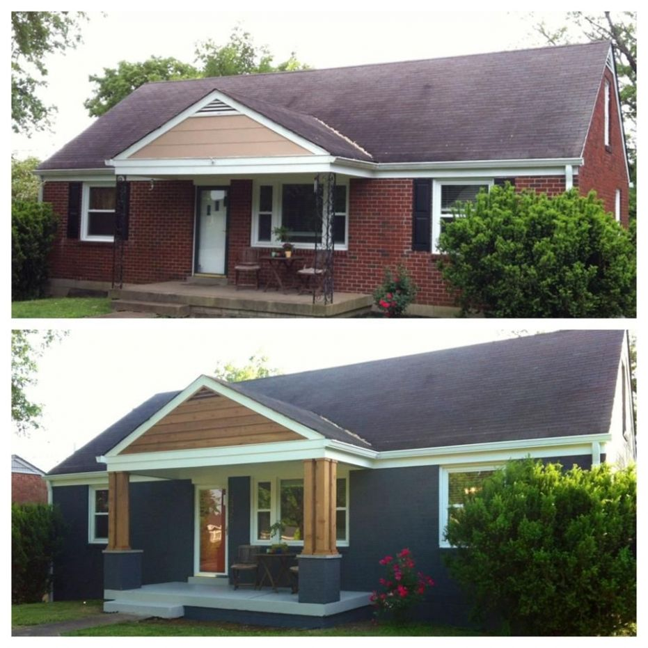 Front Porch Remodel Before And After • Porches Ideas - front porch ideas before and after