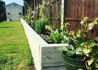 Garden DIY Railway Sleepers project to create a raised bed ...