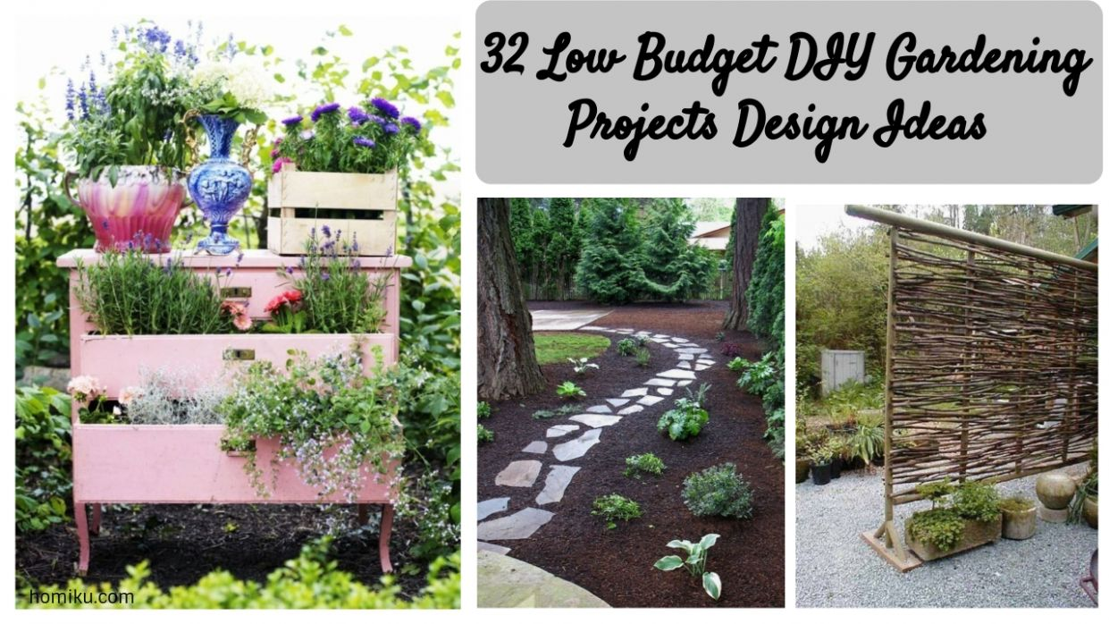 garden on a budget - Domaregroup