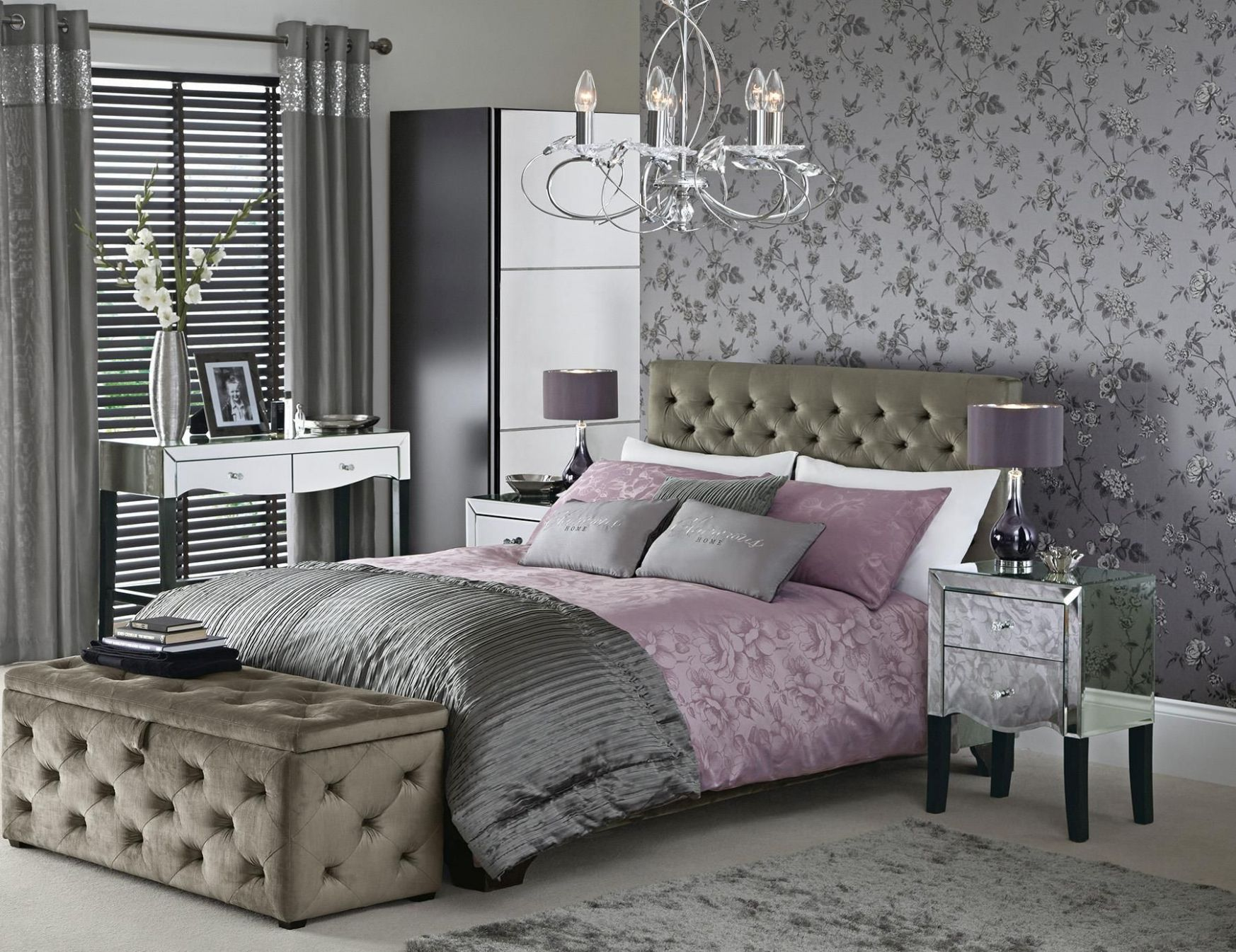 Gatsby bedroom collection from Next HOME | Bedroom design, Home ..