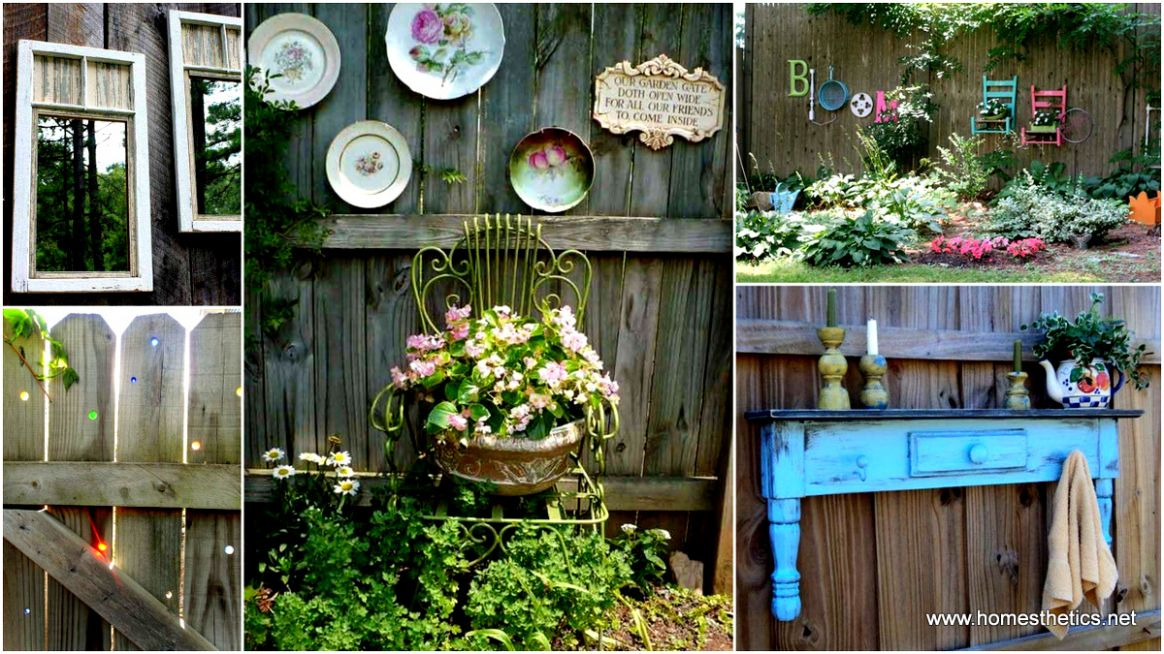 Get Creative With These Fence Decorating Ideas And Transform ..