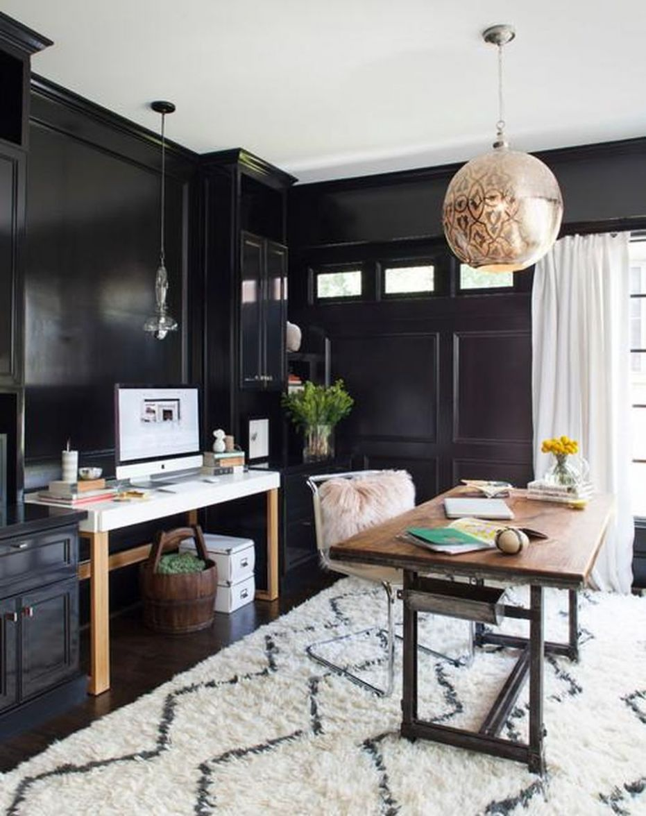 Glam Home Offices For Go-Getters - home office ideas houzz