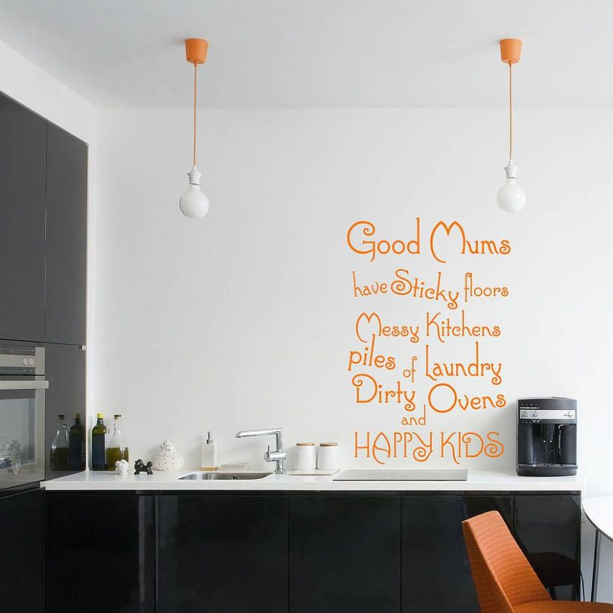 good mums' kitchen wall sticker by wall decals uk by gem designs ...
