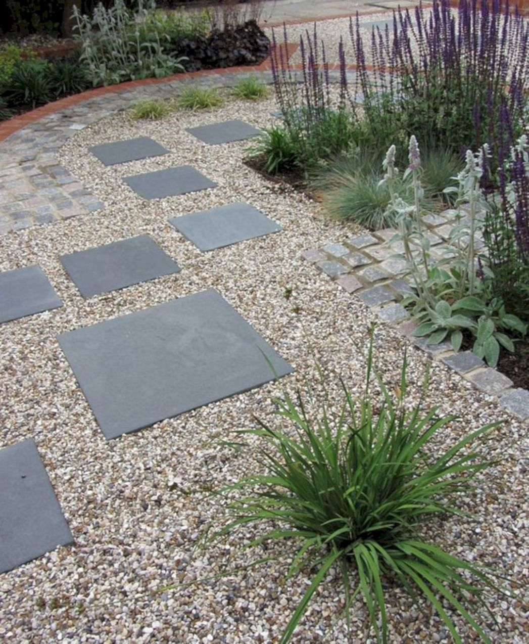 Gravel Stone Backyard ideas — TERACEE - backyard ideas stone