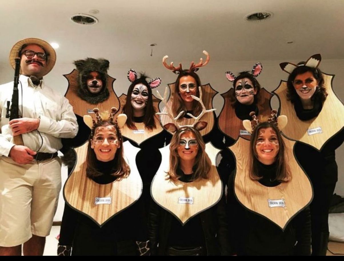 Great idea for team costume at work. #halloween #costumes | Funny ...