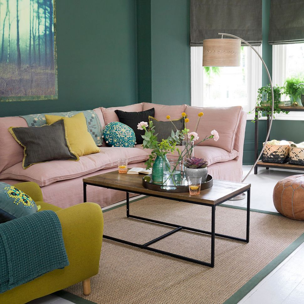 Green living room ideas for soothing, sophisticated spaces - jade living room ideas