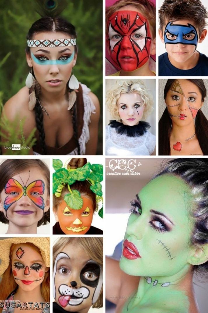 Halloween Ideas and Inspiration | Easy halloween face painting ..