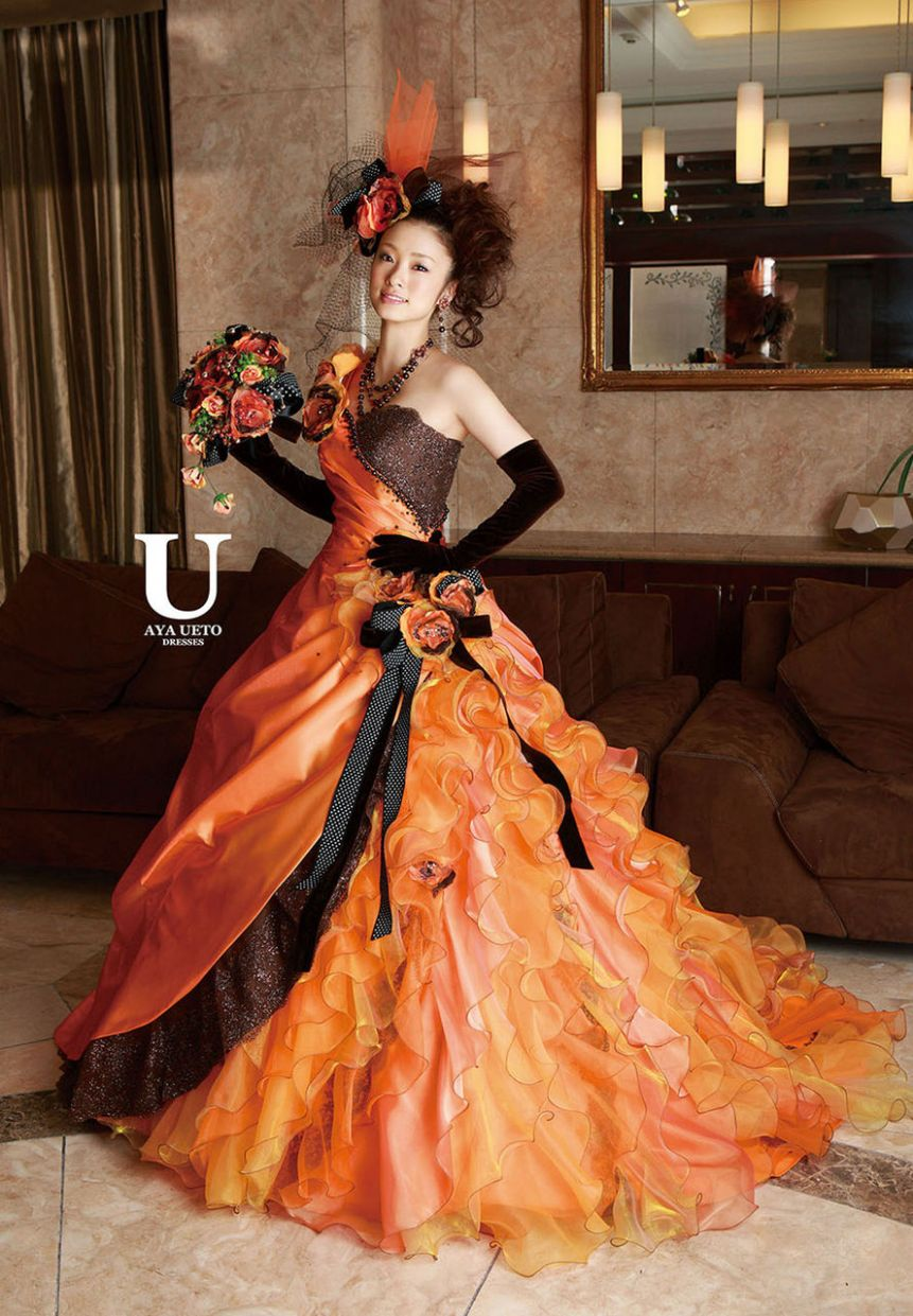 Halloween Themed Wedding Dresses
