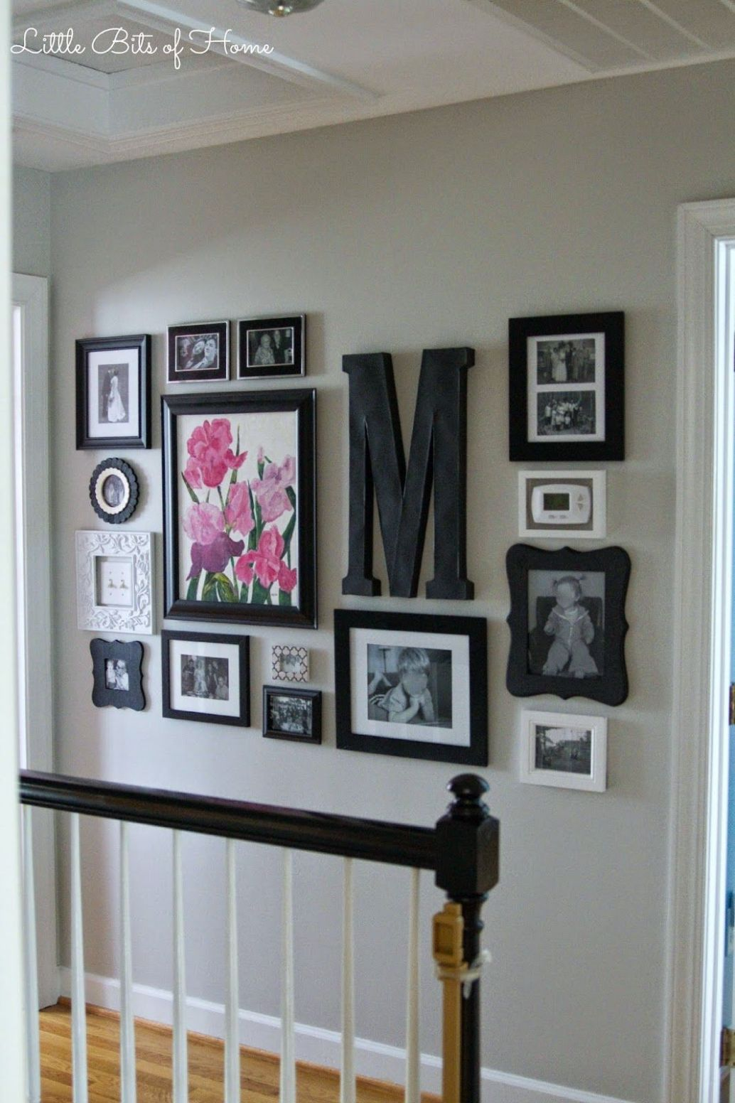 Hallway Gallery Wall | Home decor, Home, Decor - wall decor ideas picture frame