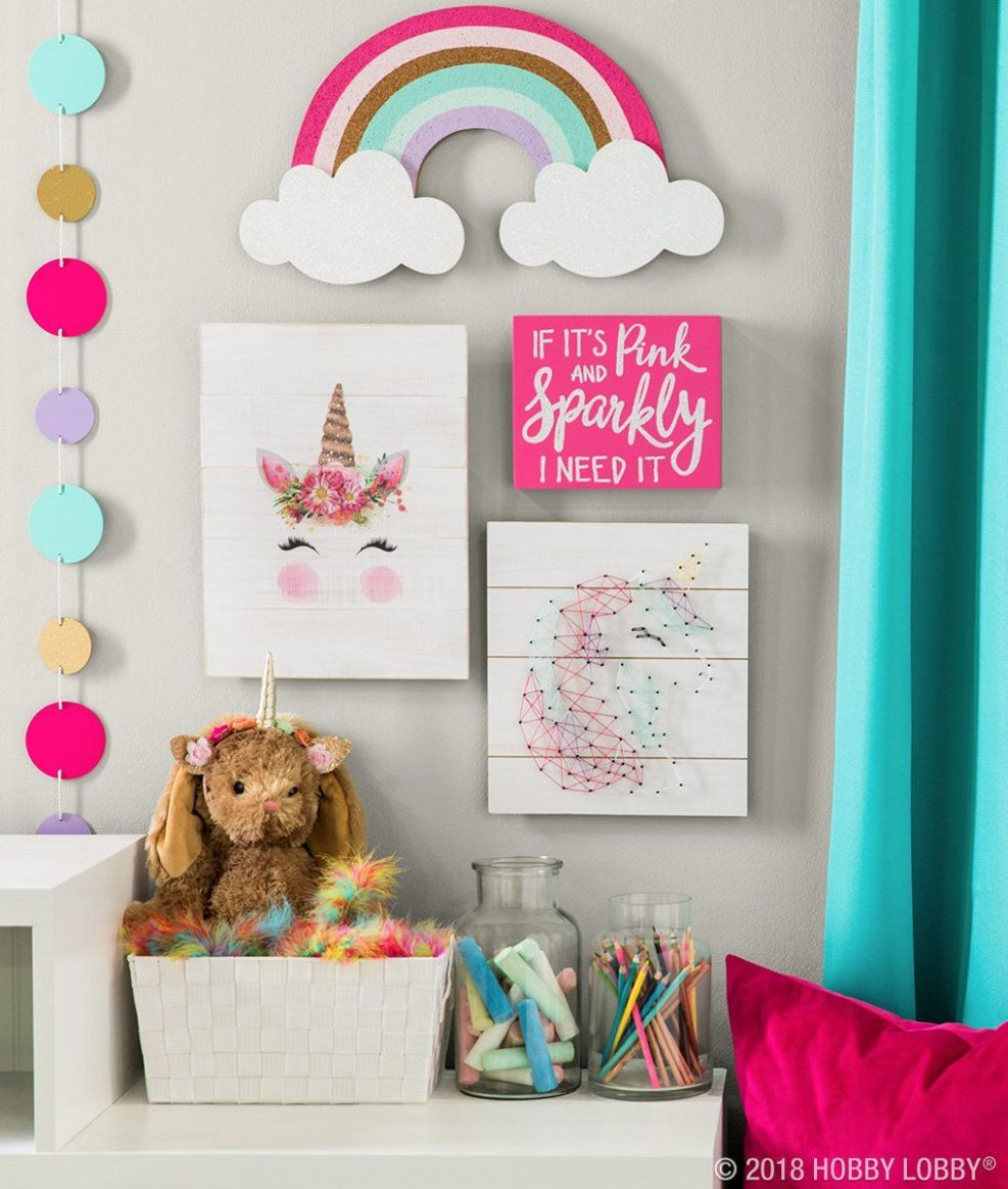 Hang some happy with magically cute decor featuring everyone's ...