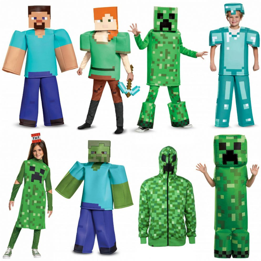 Here are the Best Minecraft Costumes in the World (We Hope You Dig ..