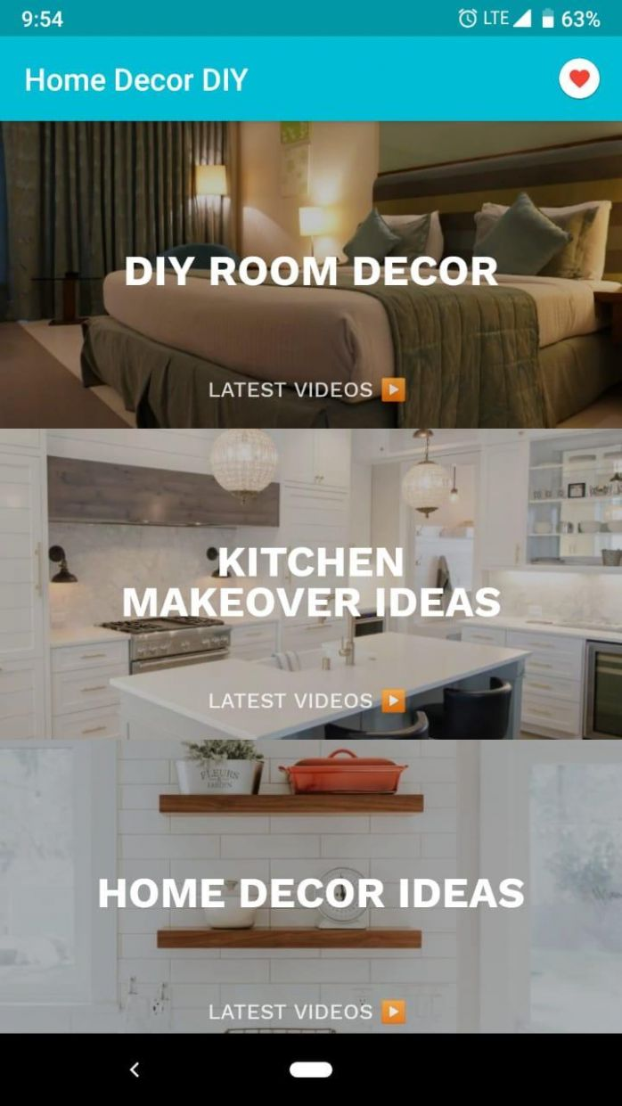Home Interior Decoration DIY for Android - APK Download - diy home decor video download
