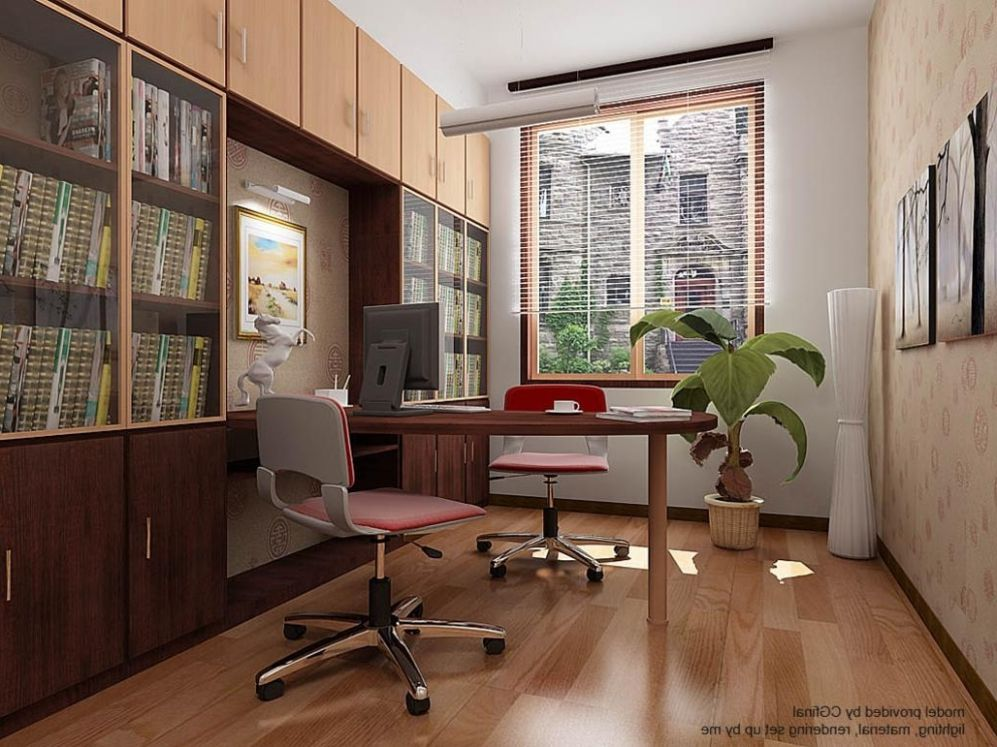 Home Office Great Design Sweet Cozy Simple Interior Ideas Room And ..