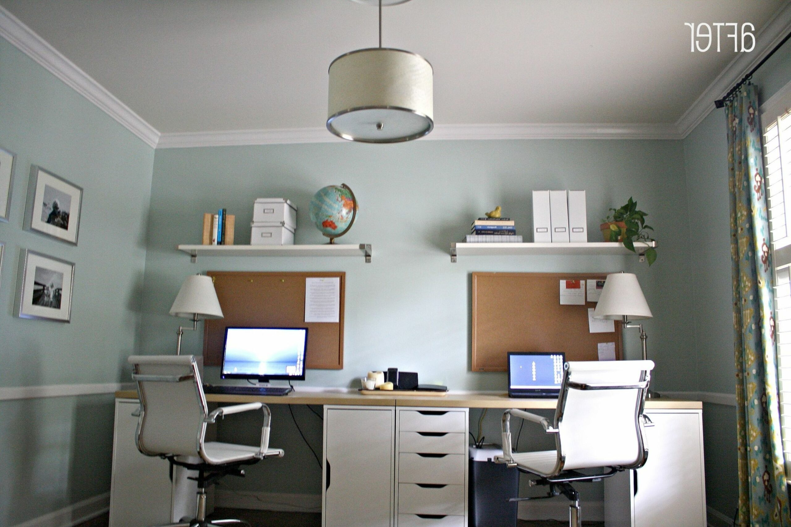Home Office Home Office Corner Desk 9 Person H Home Design | Houzz ..