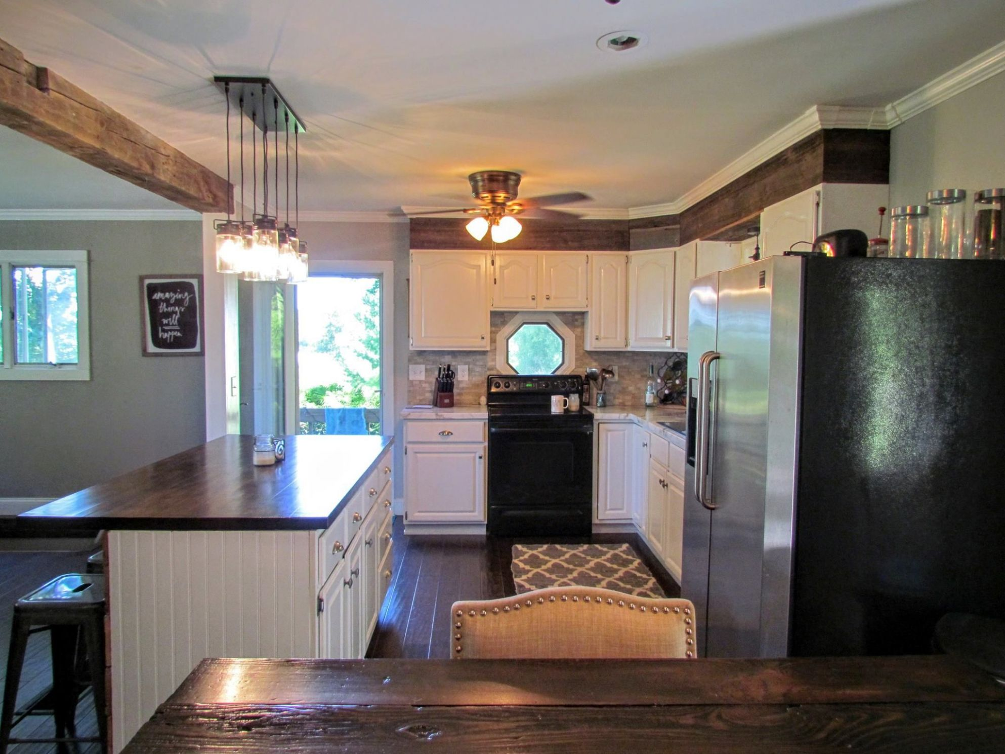 Home Remodel Before & After | Ranch kitchen remodel, Kitchen ..