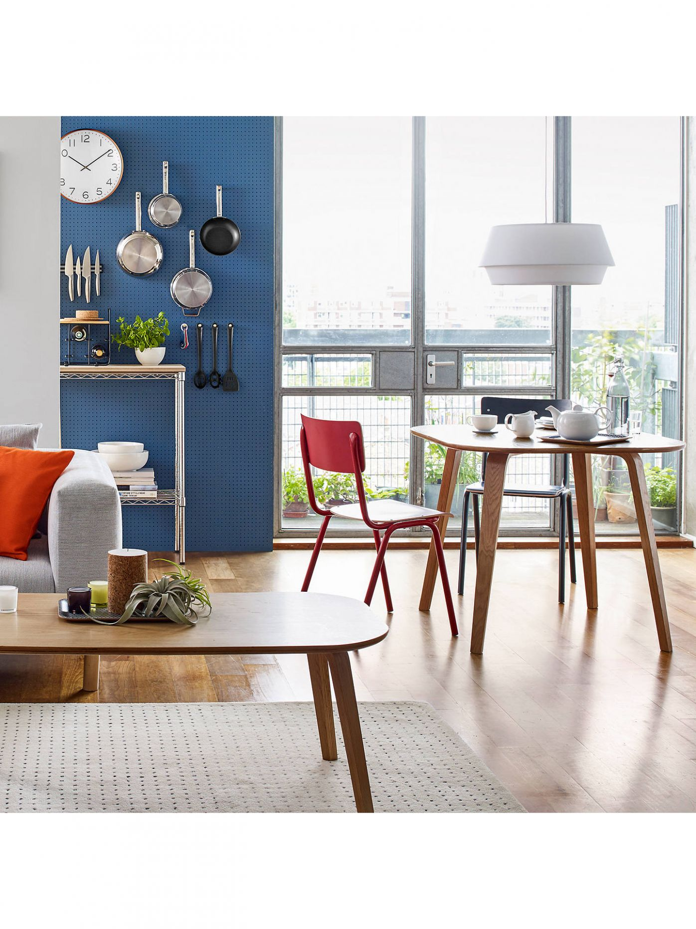 House by John Lewis Anton 12 Seater Dining Table, Oak - john lewis dining room ideas