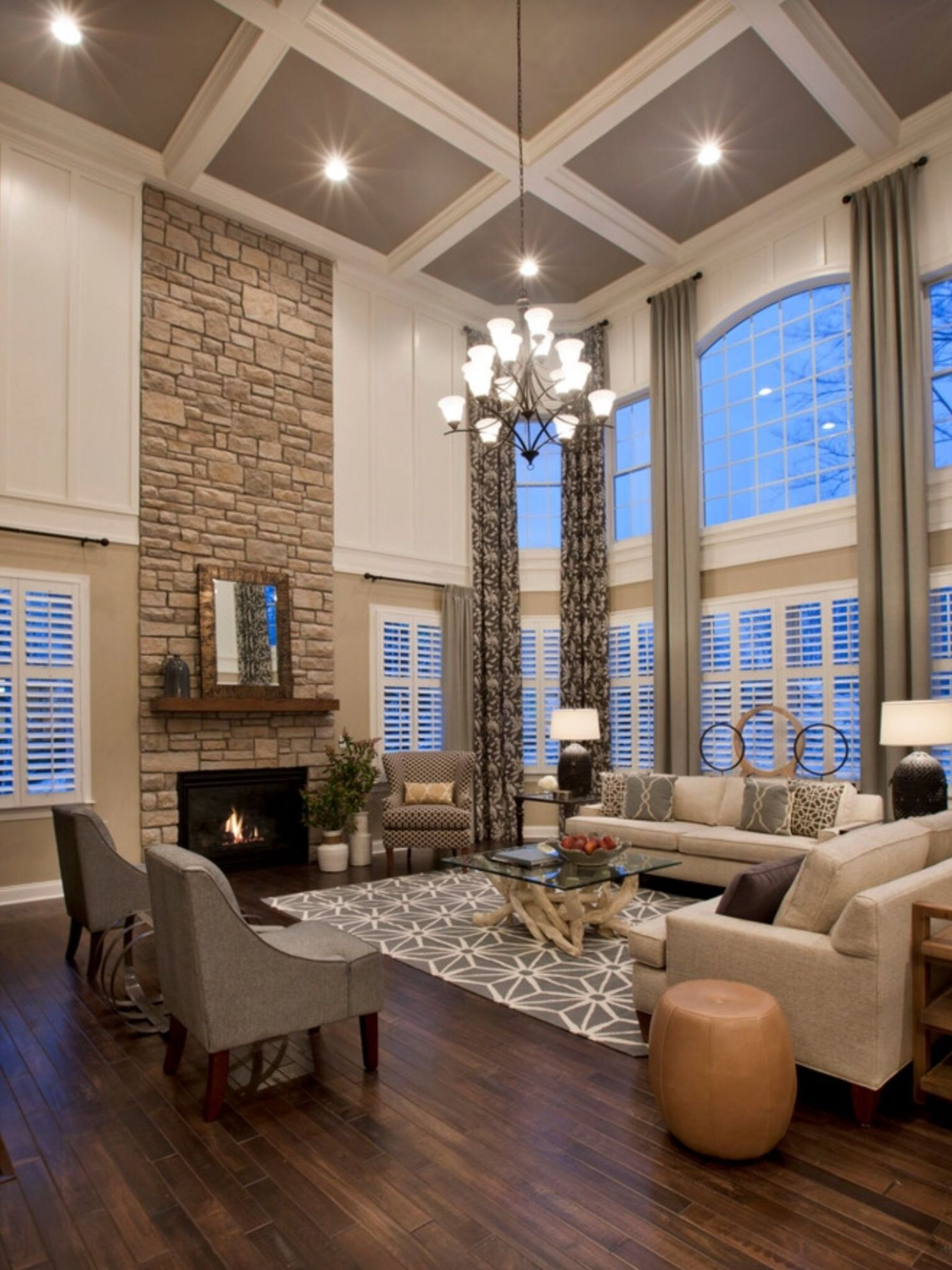 Houzz-Love this nice open space. | Home decor, House, Living room ..