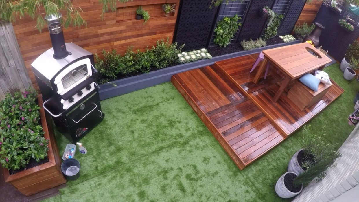 How To Create An Outdoor Entertaining Area - D.I.Y. At Bunnings
