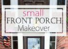 How To Decorate a Small Front Porch - Page 10 of 10 | Porch ...