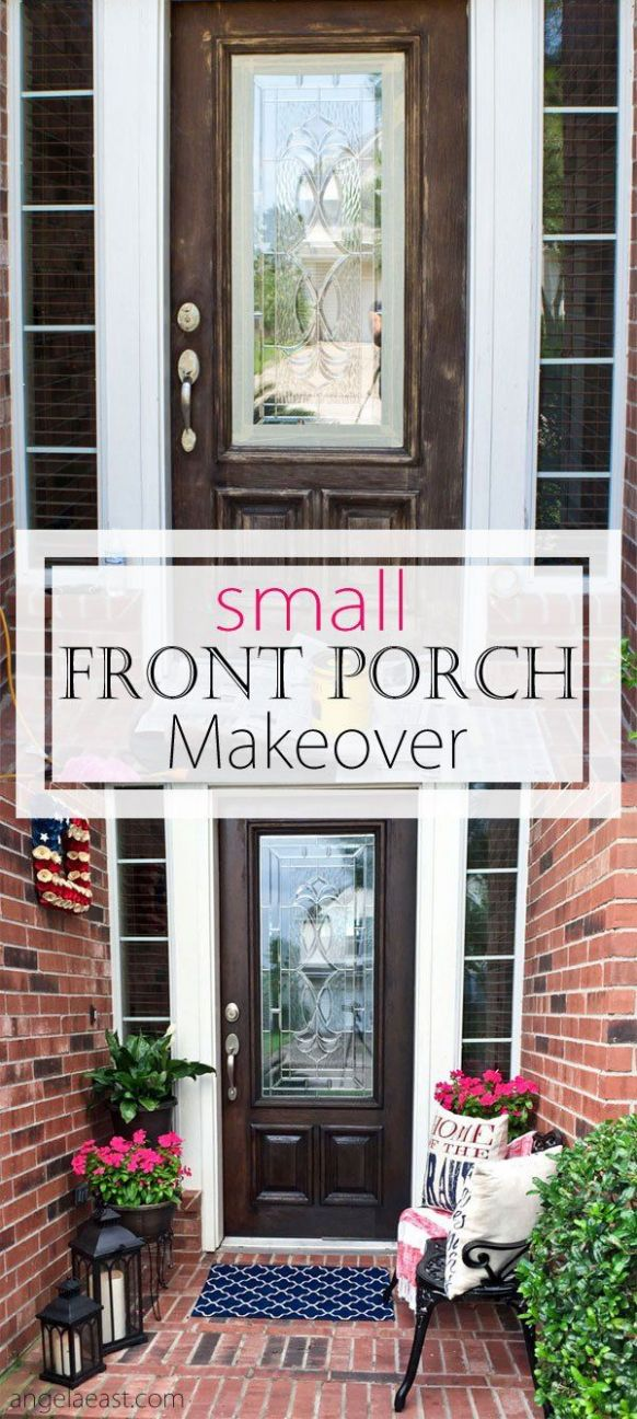 How To Decorate a Small Front Porch - Page 10 of 10 | Porch ..