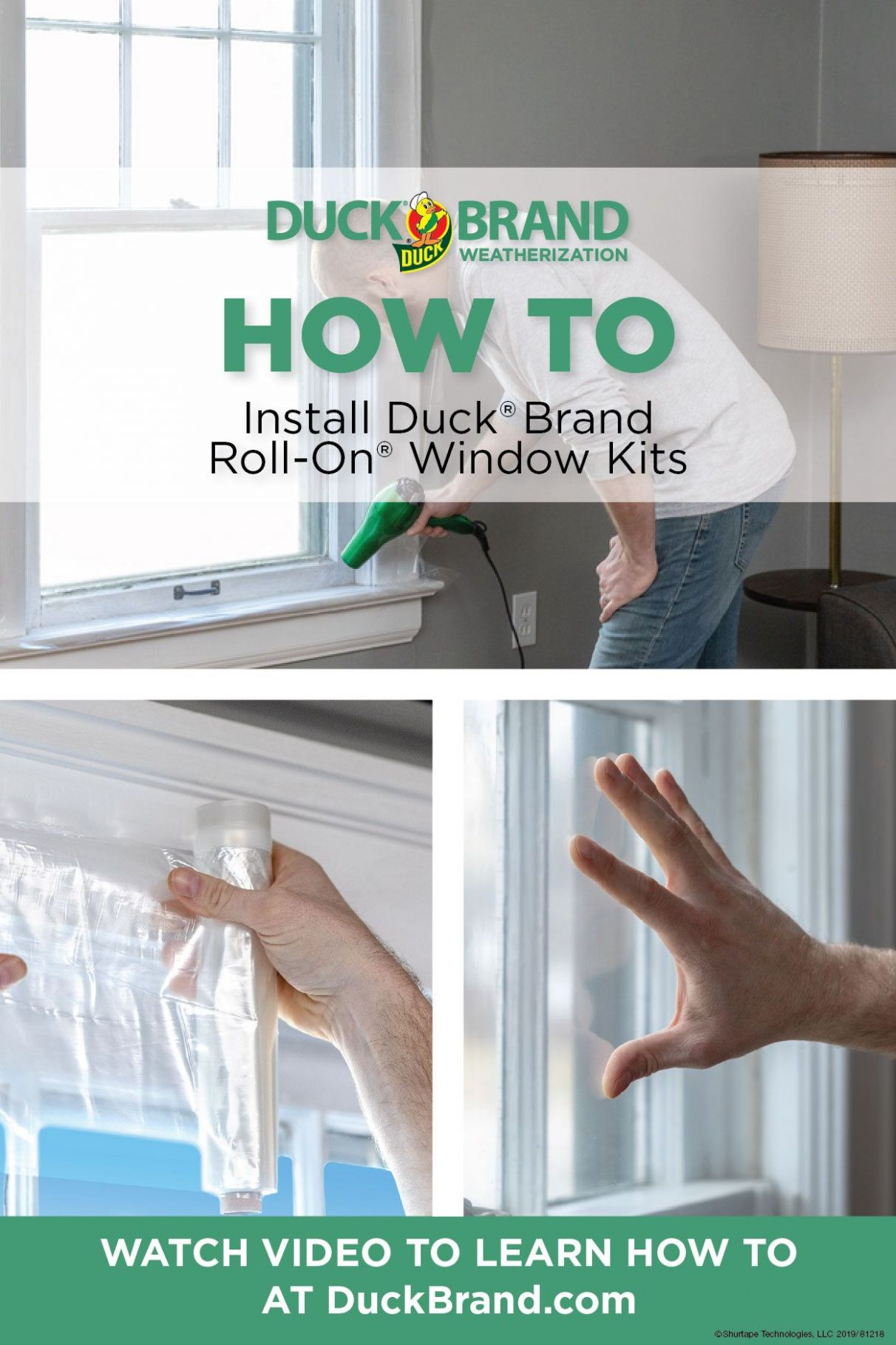 How-To Install: Roll-On® Window Kits | Window insulation kit ..