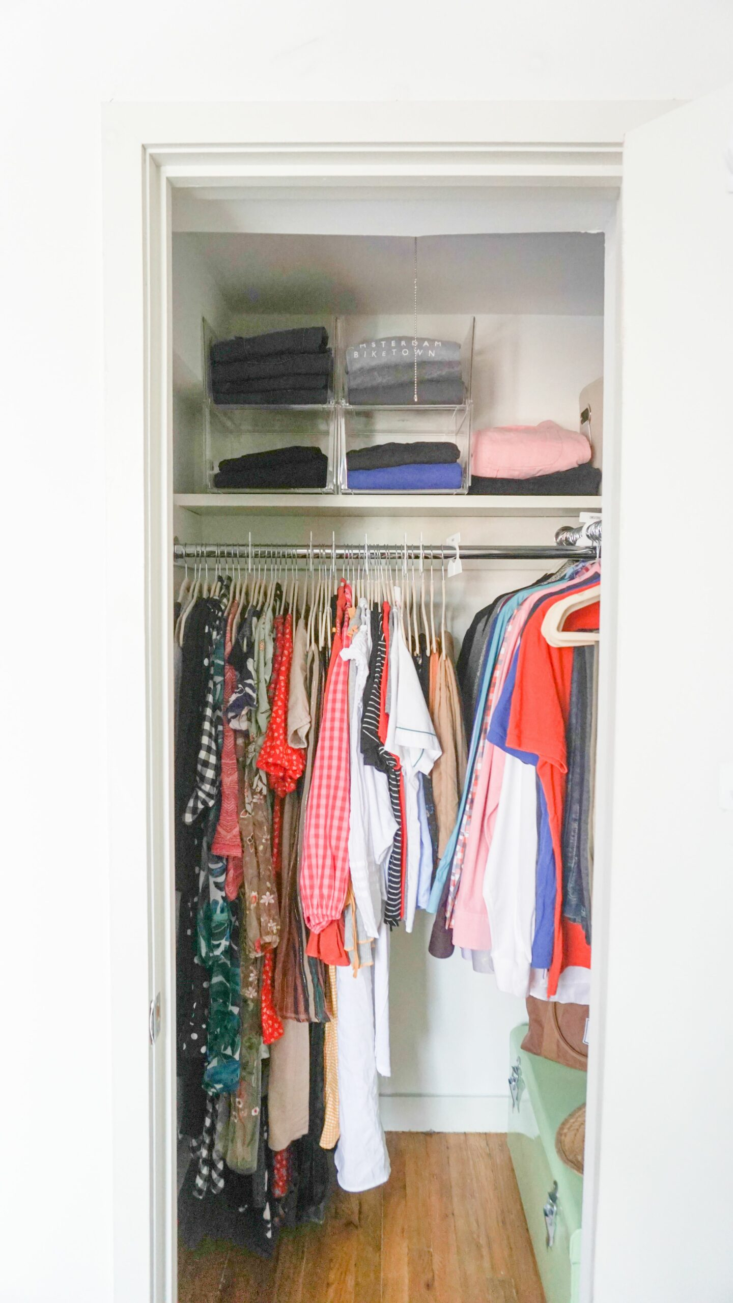 How To Organize A Small Closet, According To A Professional Organizer