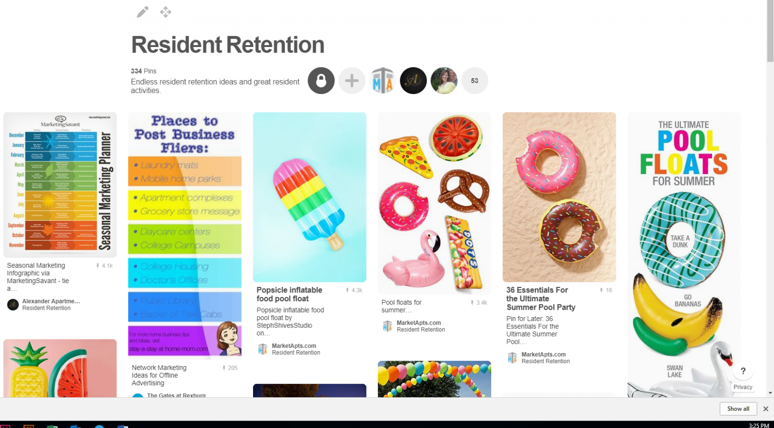 How to Use Pinterest in Your Apartment Marketing : Market ...