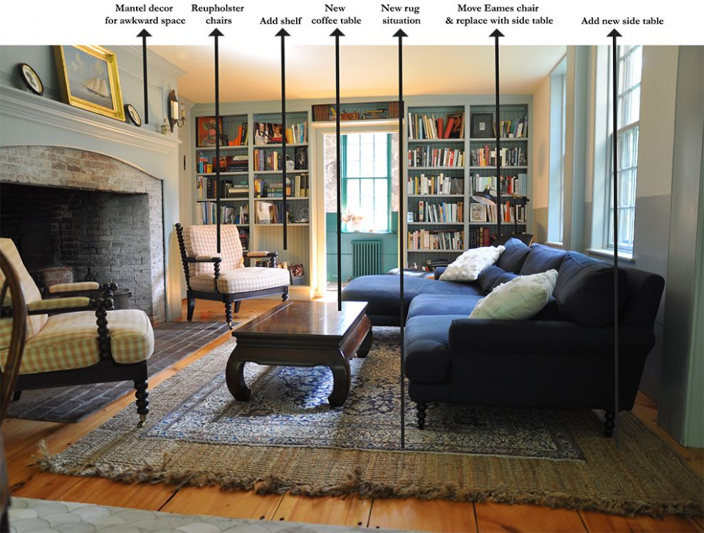 Ideas for Decorating Our Long, Narrow Living Room (Part I) – New ..