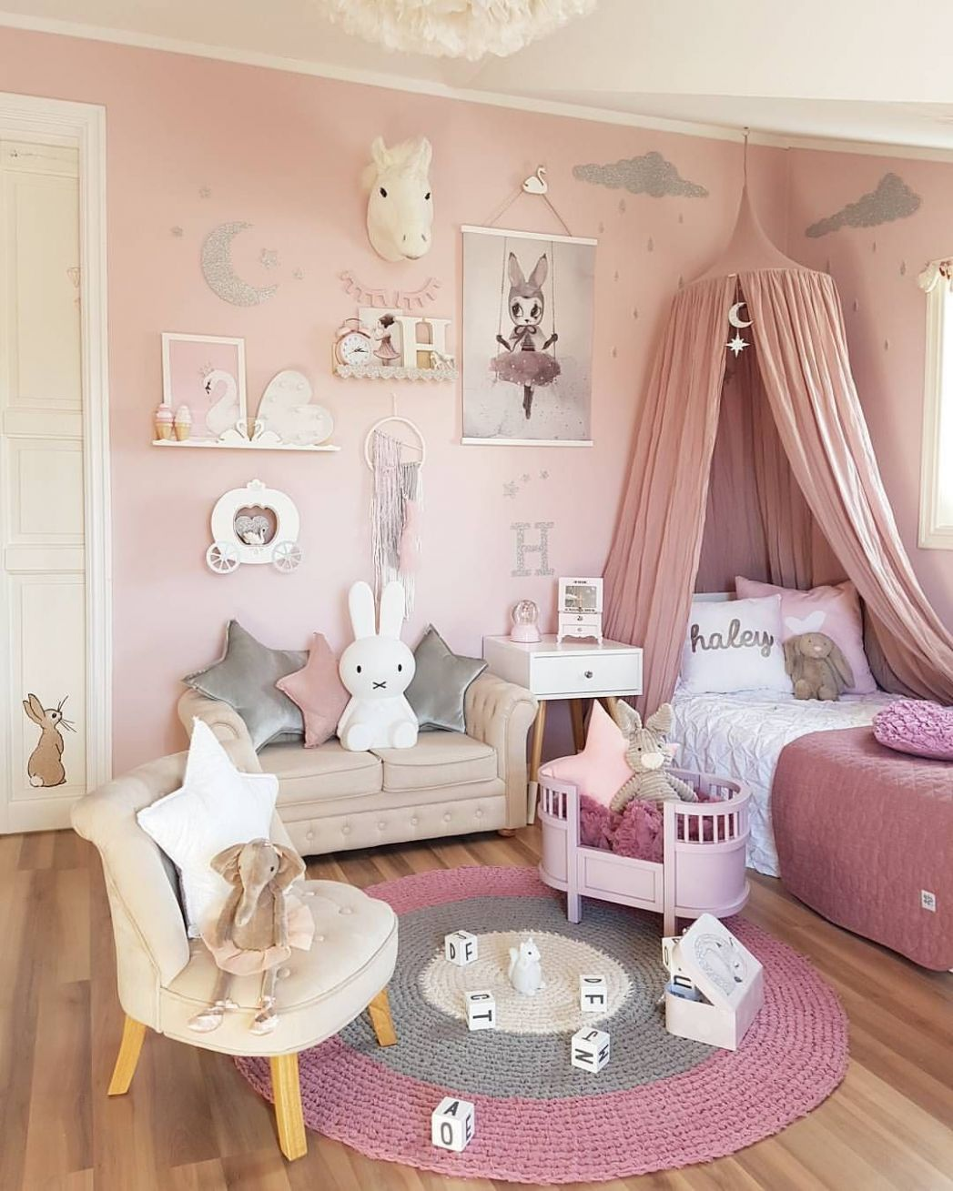 if you're searching for girl bedroom ideas, think about what your ...