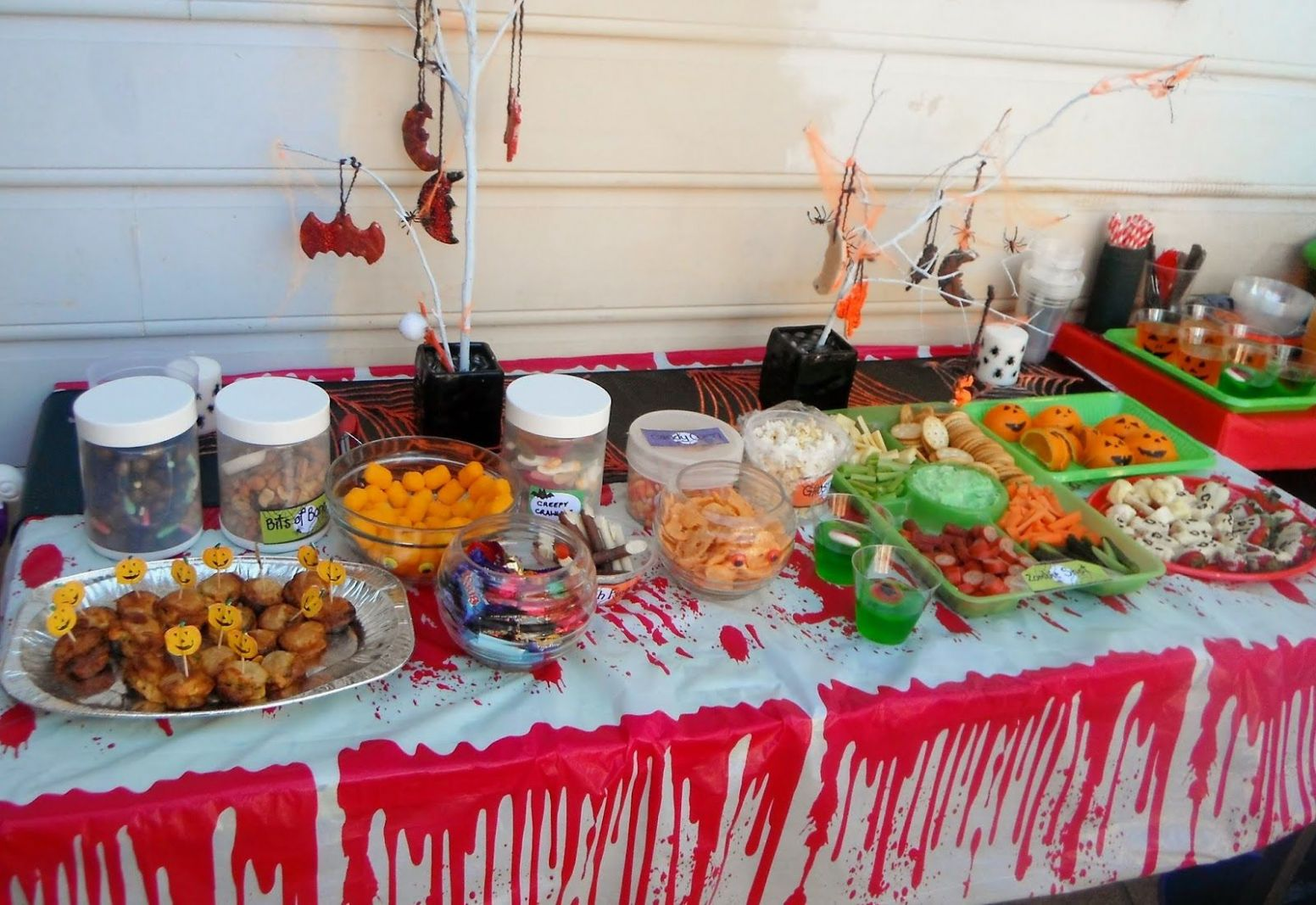 Image result for halloween party food - halloween ideas house party