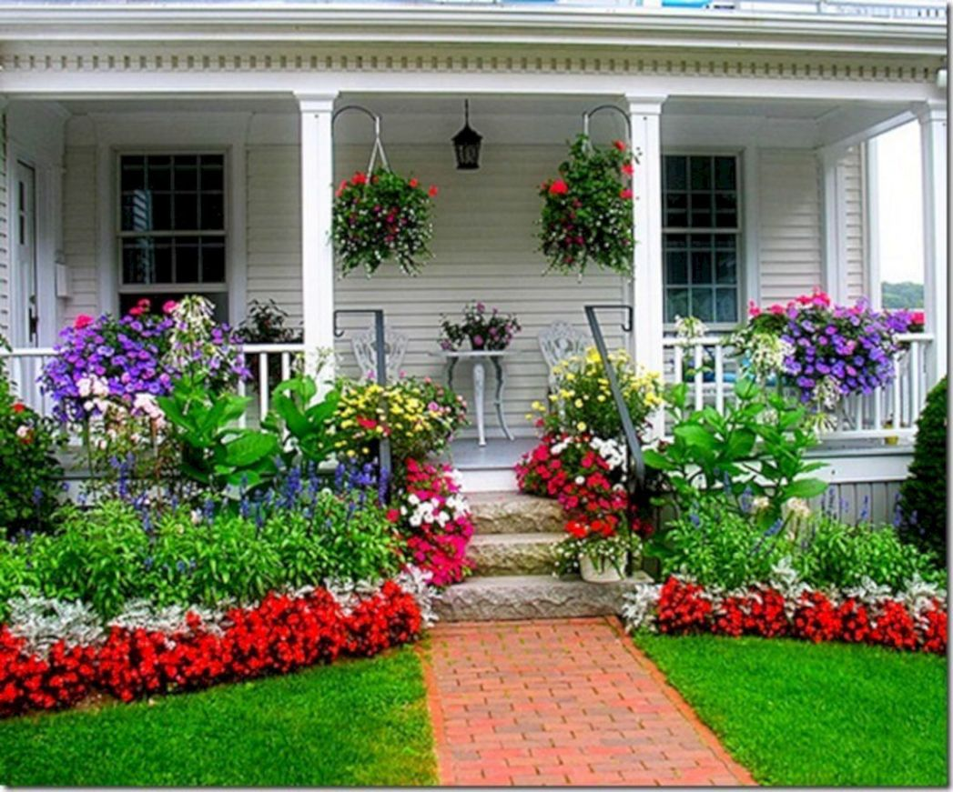 Impressive Front Porch Landscaping Ideas to Increase Your Home ...