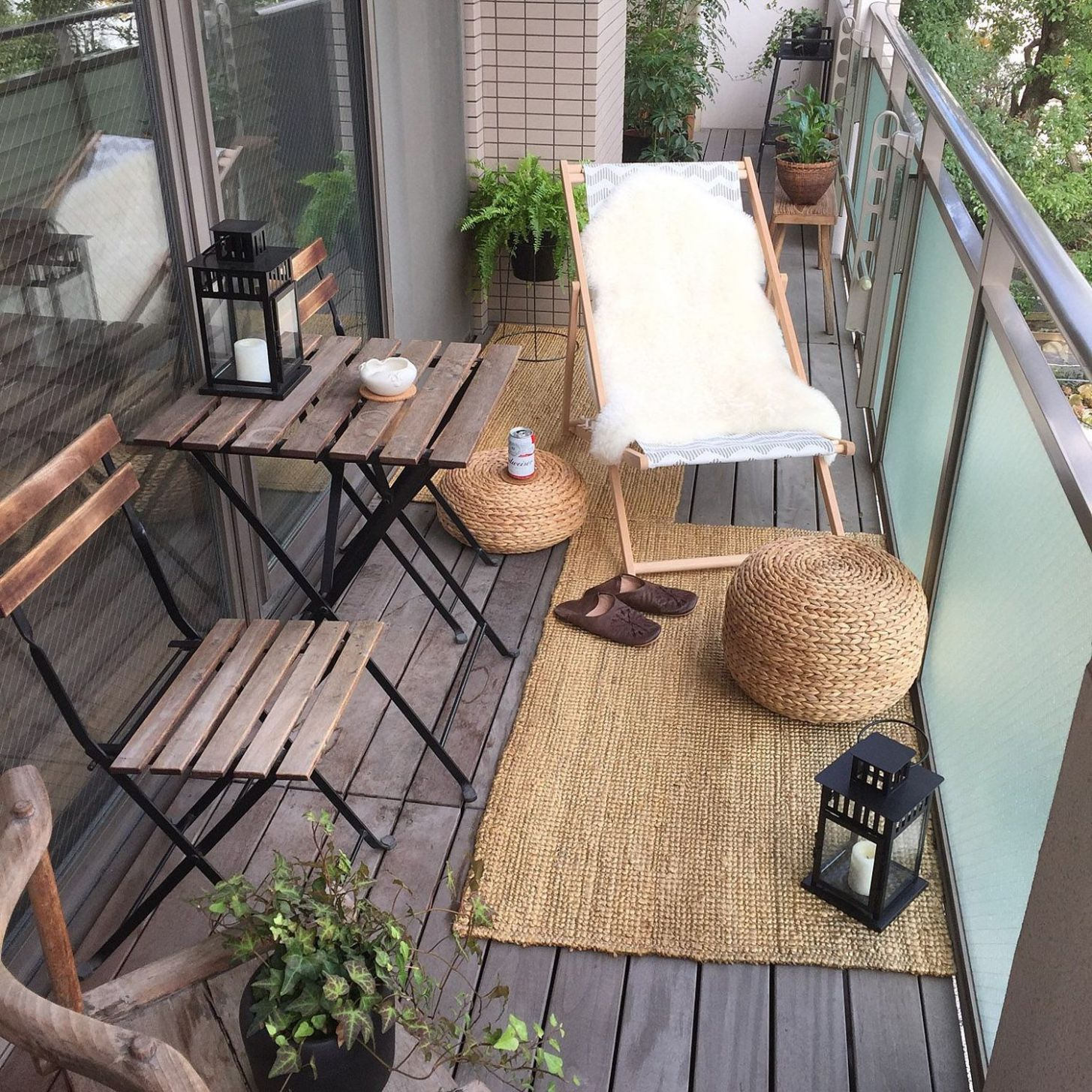 Inspiration for Small Apartment Balconies in the City | Small ...