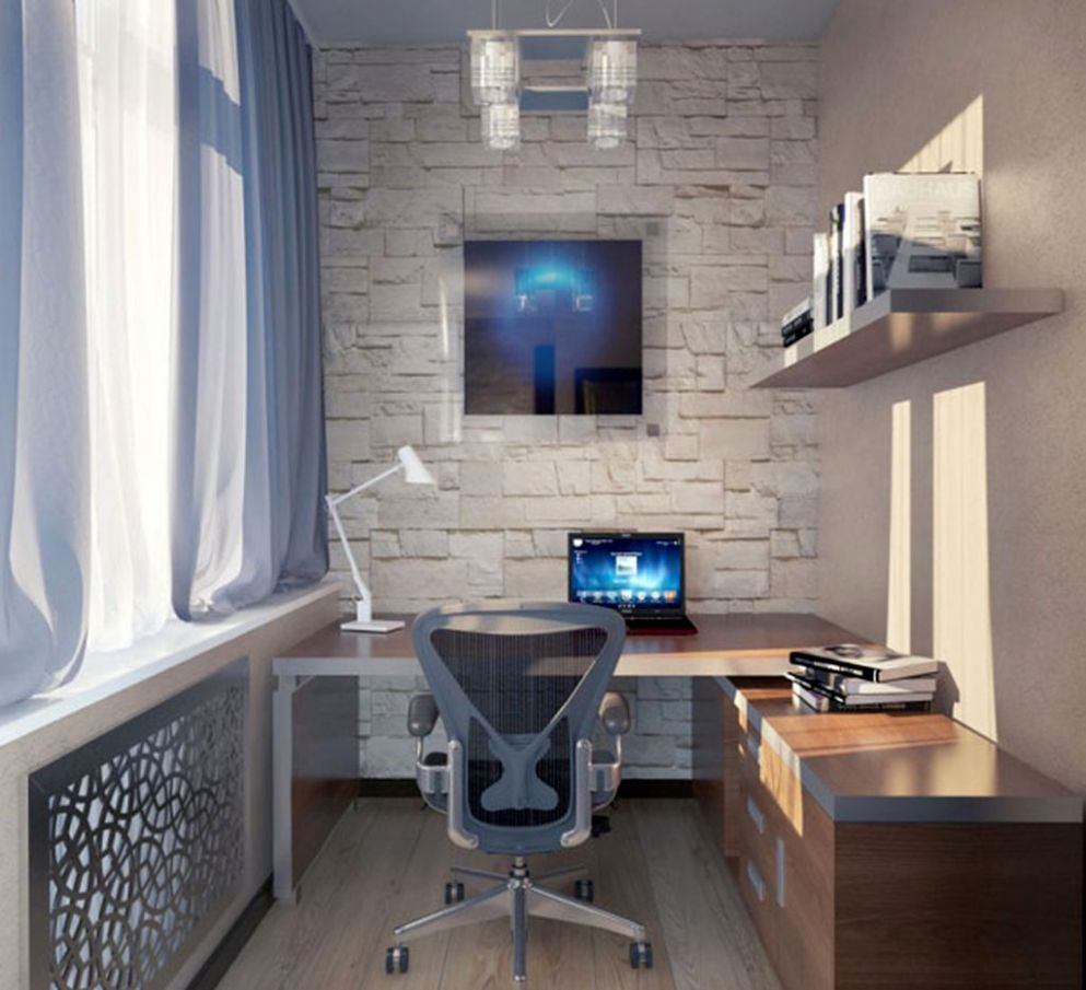 Inspiring Home Office Design Ideas Small Spaces Space Decorating ...