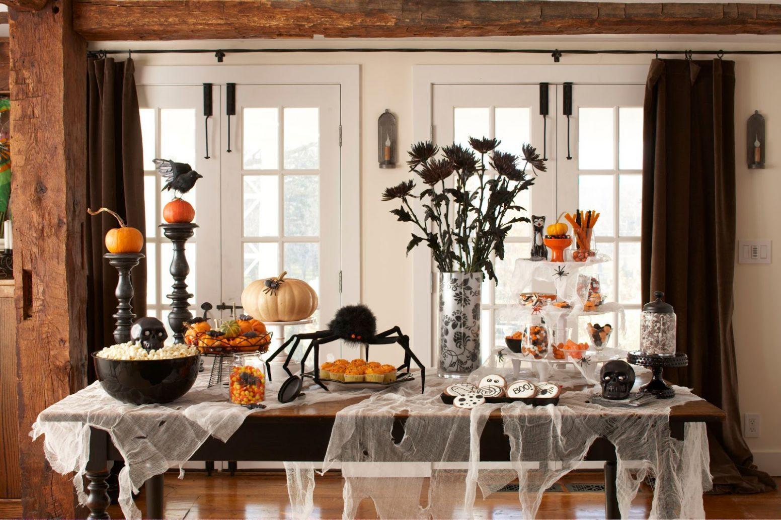 Karin Lidbeck: Clever Halloween party ideas! Easy last minute DIY