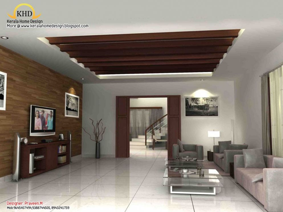 Kerala Dining Room Design Living room designs kerala (With images ..