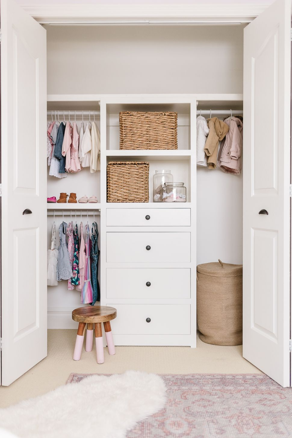 Kids Closet Organization Ideas and Free Plans | Nick + Alicia