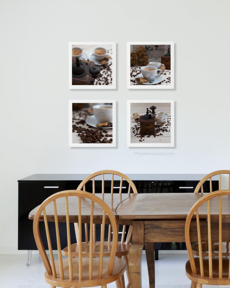 kitchen art/Kitchen wall decor/food Photography/set of 12 prints, large wall  art /coffee/gift for her/food poster/food print/food wall art - dining room wall art ideas etsy