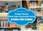 KonMari Organization | Kitchen: Food Storage BEFORE & AFTER