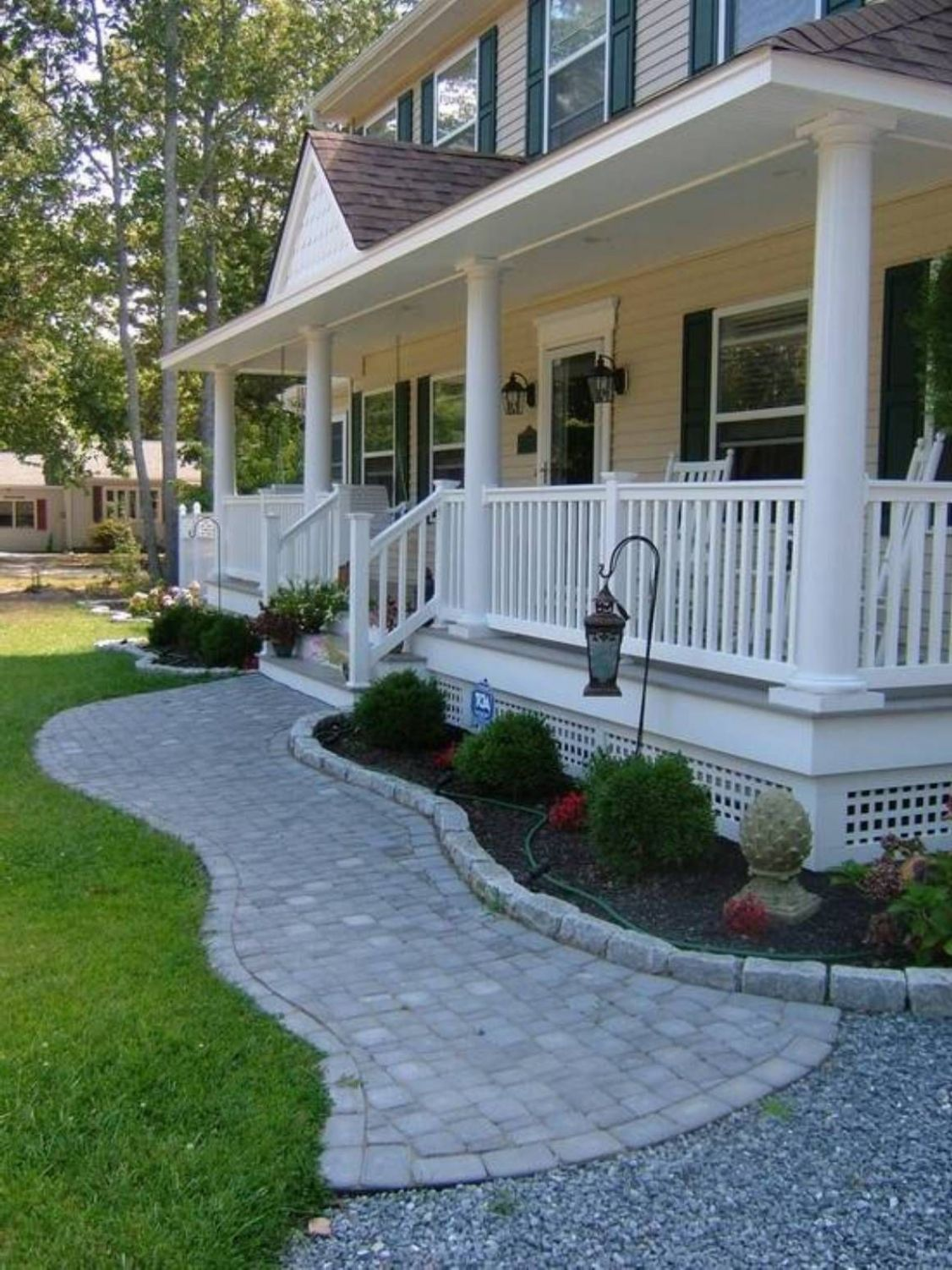 Landscaping And Outdoor Building , Home Front Porch Designs ..