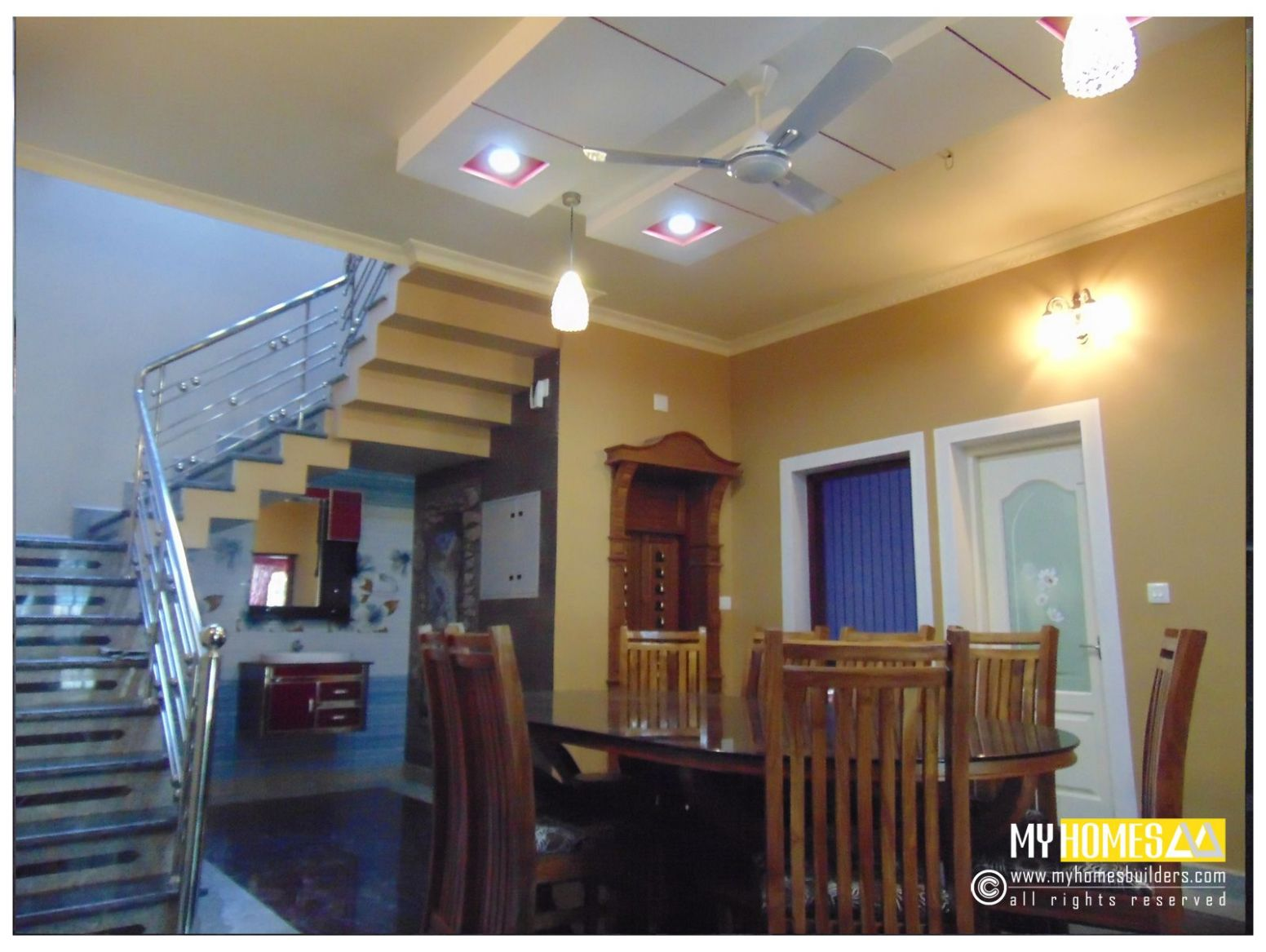 latest ideas for Dining room design kerala from my homes ..