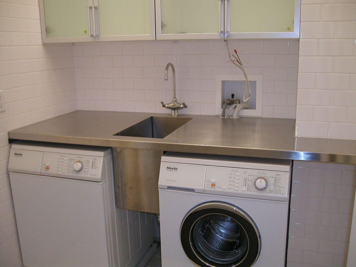 Laundry Room Counter Top With Sink | Laundry room sink, Laundry ..