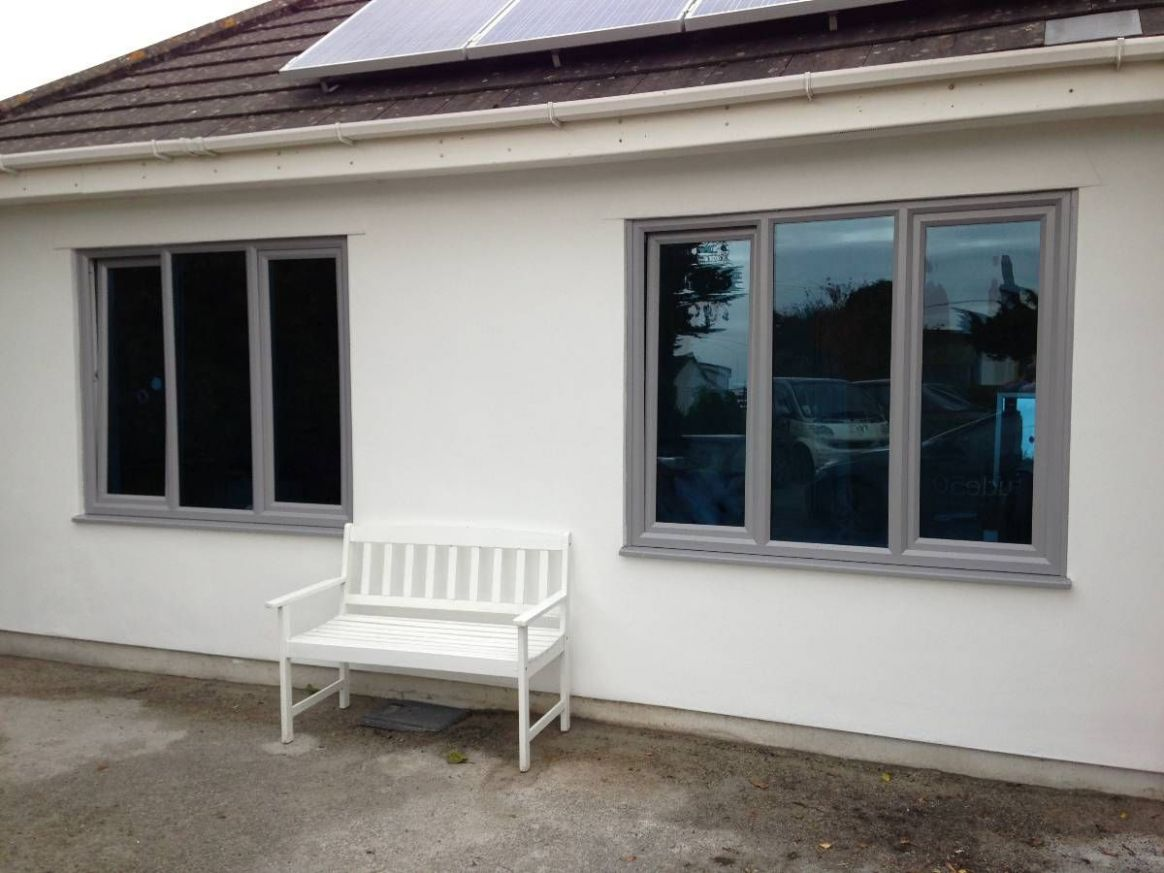 light grey windows on white/cream render (With images)   Rendered ..