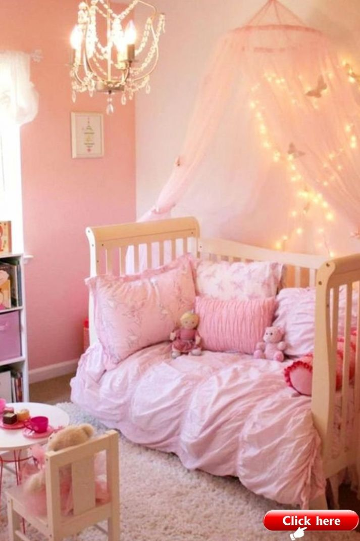 Little Girl Bedroom Ideas and Adorable Canopy Beds for Toddler ..