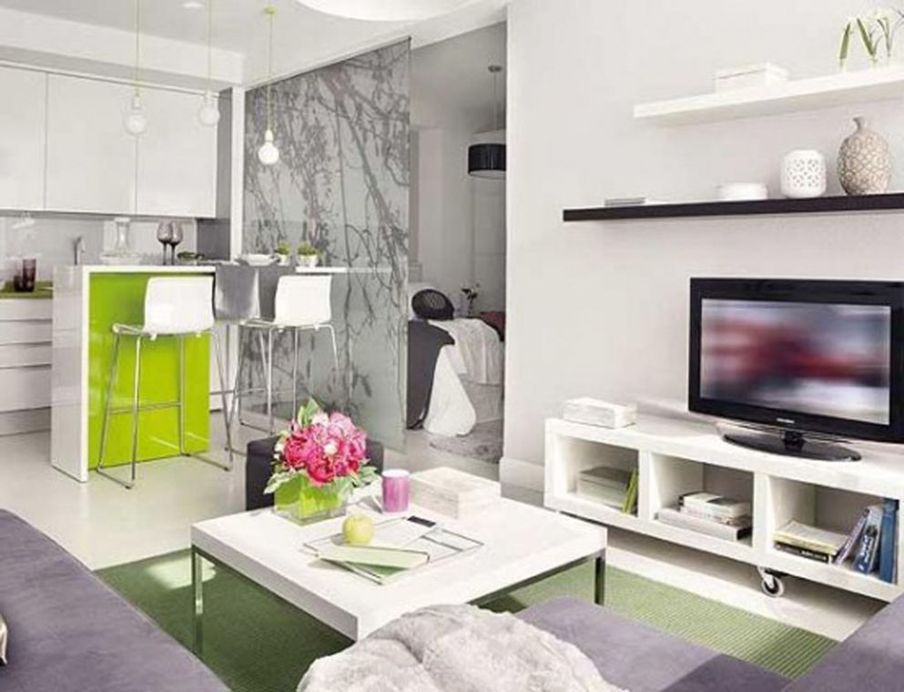 Living Room Ideas For Small Apartments Modern Hanging White Tv ...