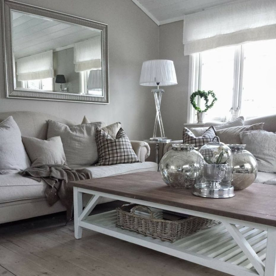 living room ideas grey and cream | Silver living room, Living room ...