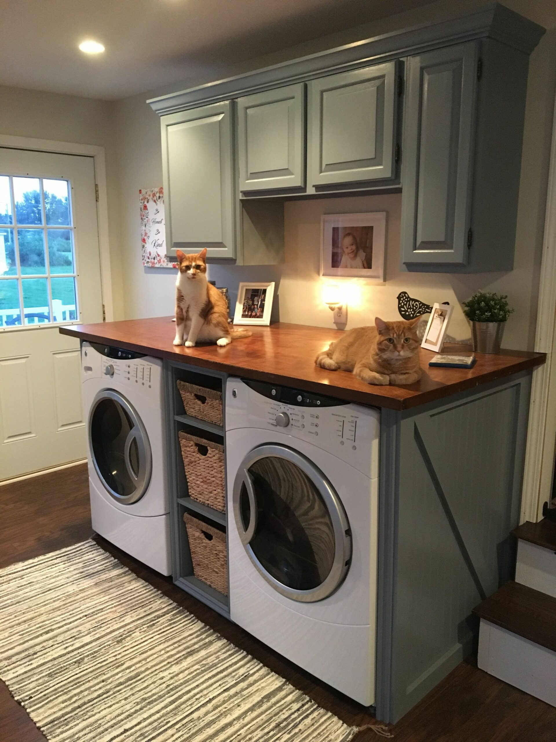 Love my laundry room! | Laundry room design, Laundry room remodel ..