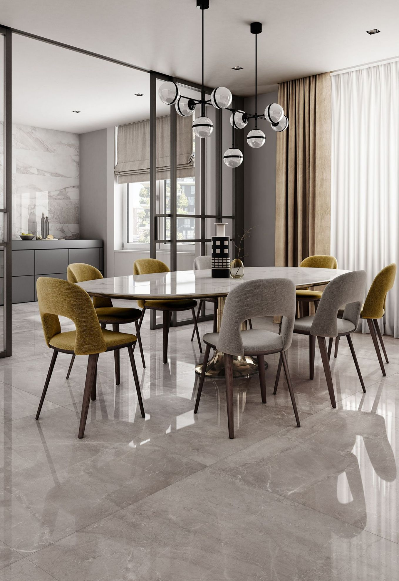 Majestic - Charm with eternal elegance on Behance | Dining room ..